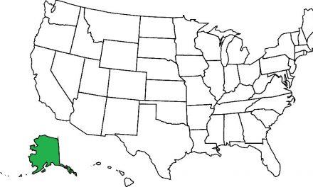 10 największych amerykańskich stanów (powierzchnia)