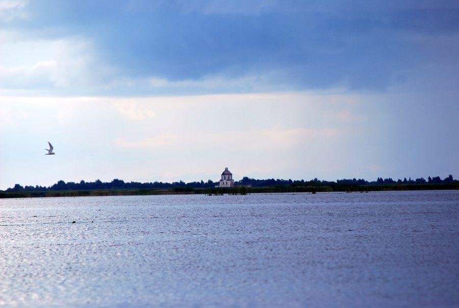 Jezioro Białe grafika