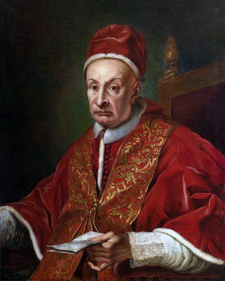Benedykt XIII grafika