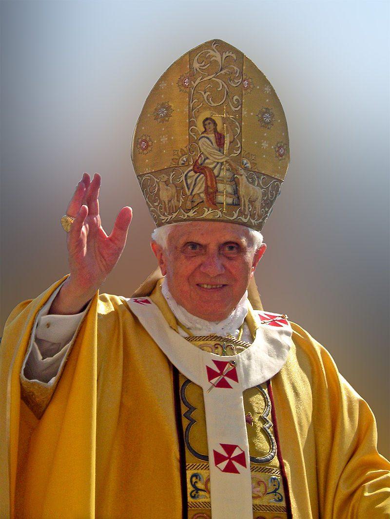 Benedykt XVI grafika