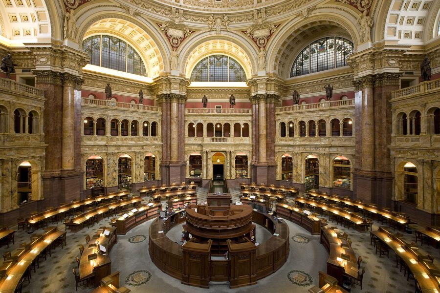 Biblioteka Kongresu grafika