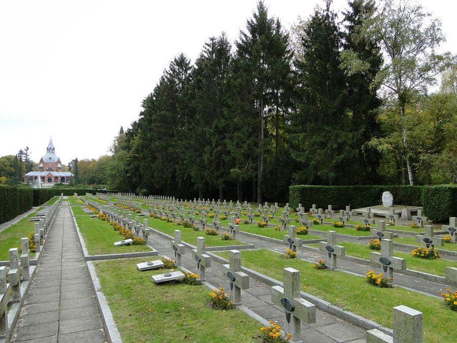 Cmentarz Centralny w Szczecinie grafika