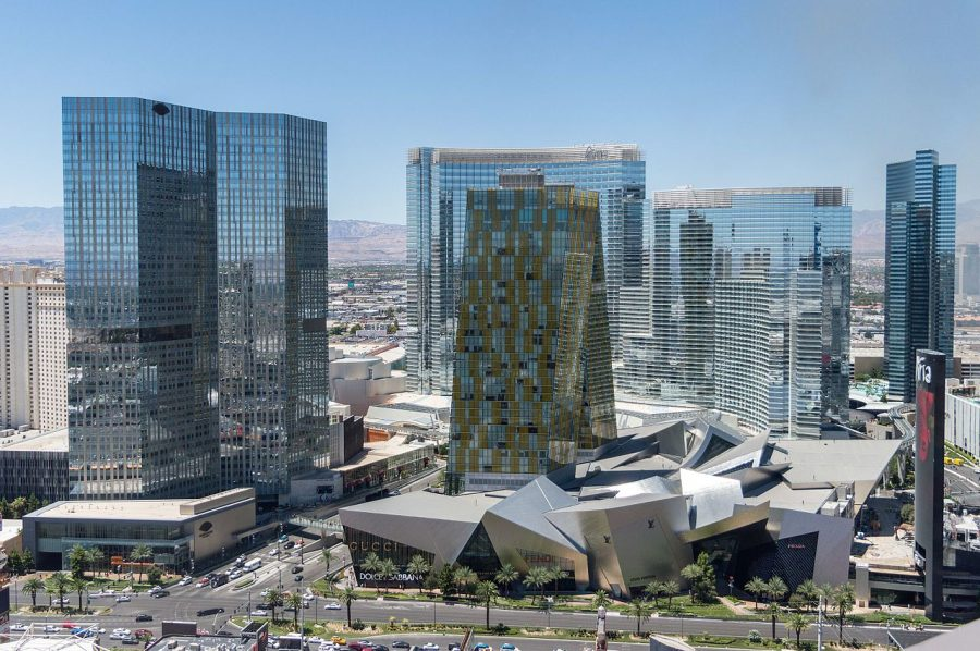 CityCenter Las Vegas grafika