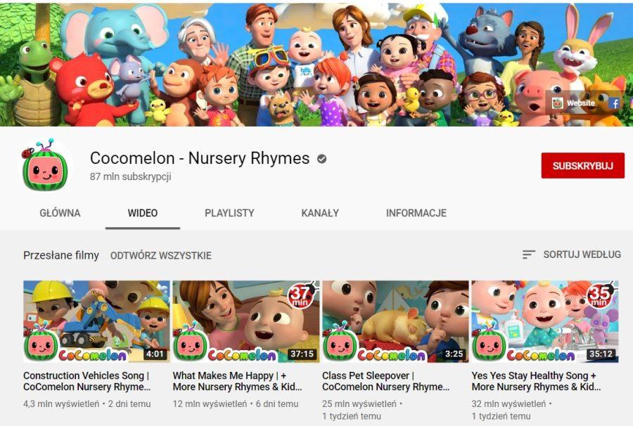 Cocomelon - Nursery Rhymes grafika