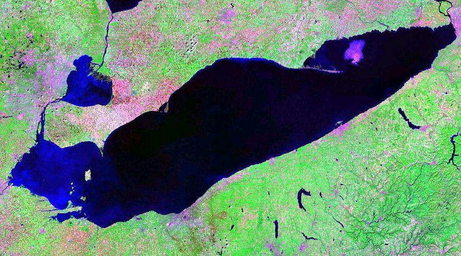 Jezioro Erie grafika