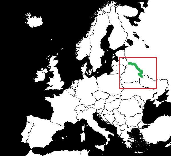 Granica Białorusi z Rosją grafika