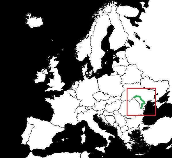 Granica Mołdawii z Ukrainą grafika