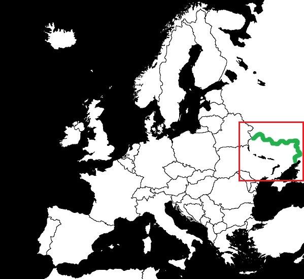 Granica Rosji z Ukrainą  grafika