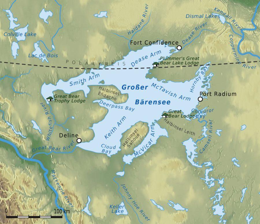 Wielkie Jezioro Niedźwiedzie grafika