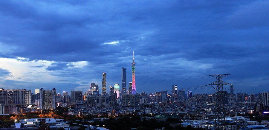 Guangzhou CTF Finance Centre grafika