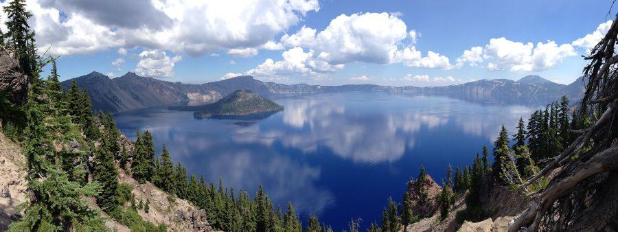 Jezioro Kraterowe grafika