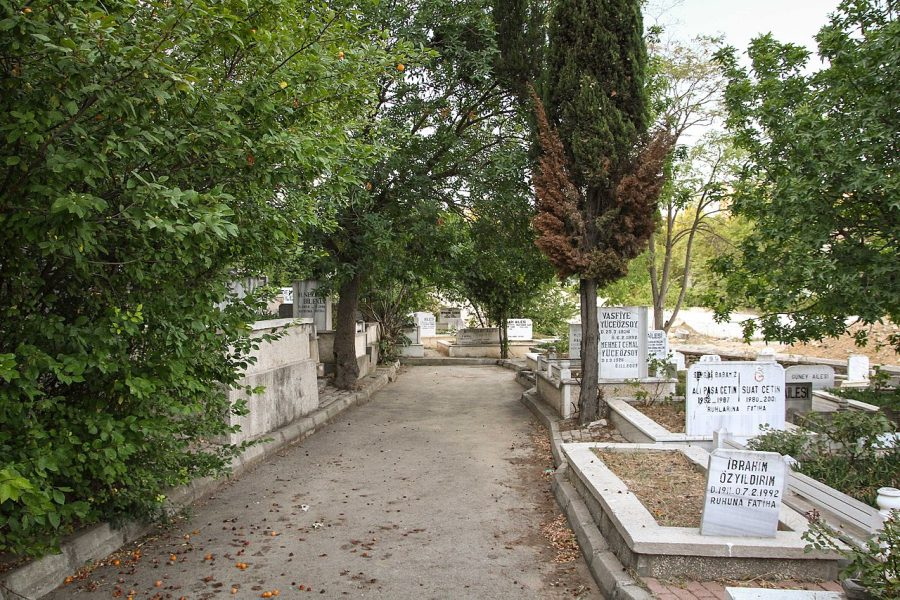 Cmentarz Karacaahmet grafika