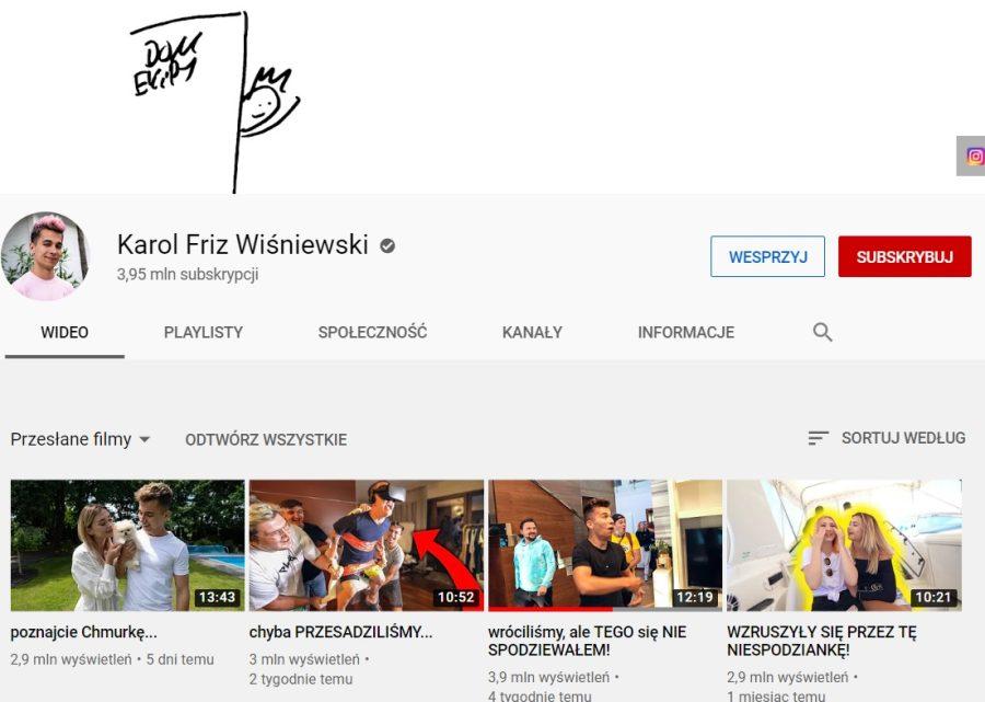 Karol Friz Wiśniewski grafika