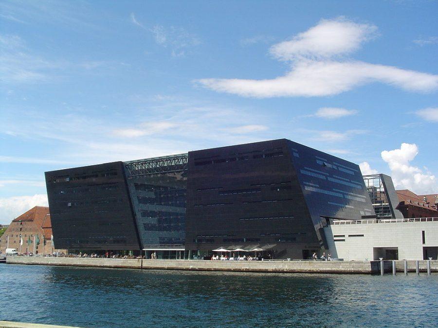 Biblioteka Królewska w Kopenhadze grafika