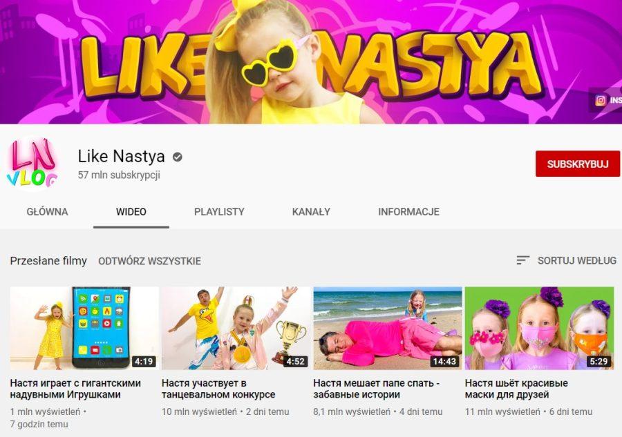 Like Nastya grafika