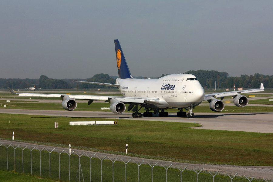 Lufthansa grafika