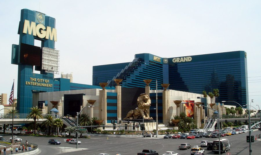 MGM Grand Las Vegas grafika