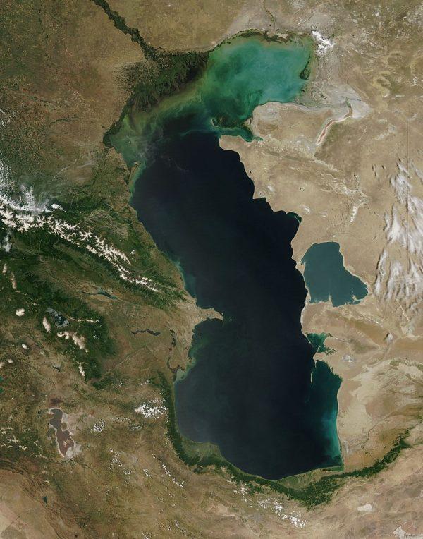 Morze Kaspijskie grafika