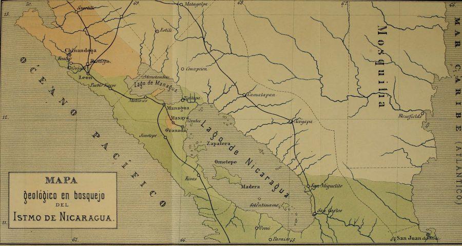 Jezioro Nicaragua grafika