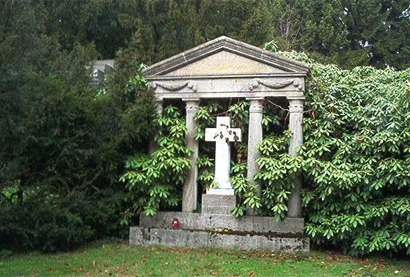 Cmentarz Ohlsdorf grafika