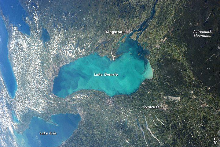 Jezioro Ontario grafika