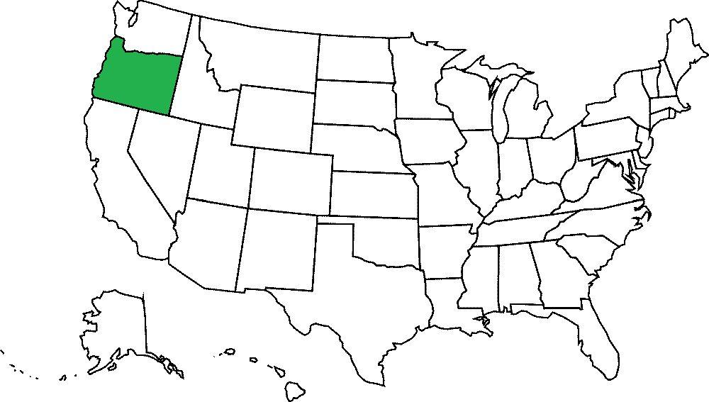 Oregon grafika