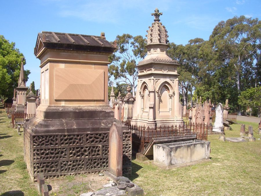 Cmentarz Rookwood grafika