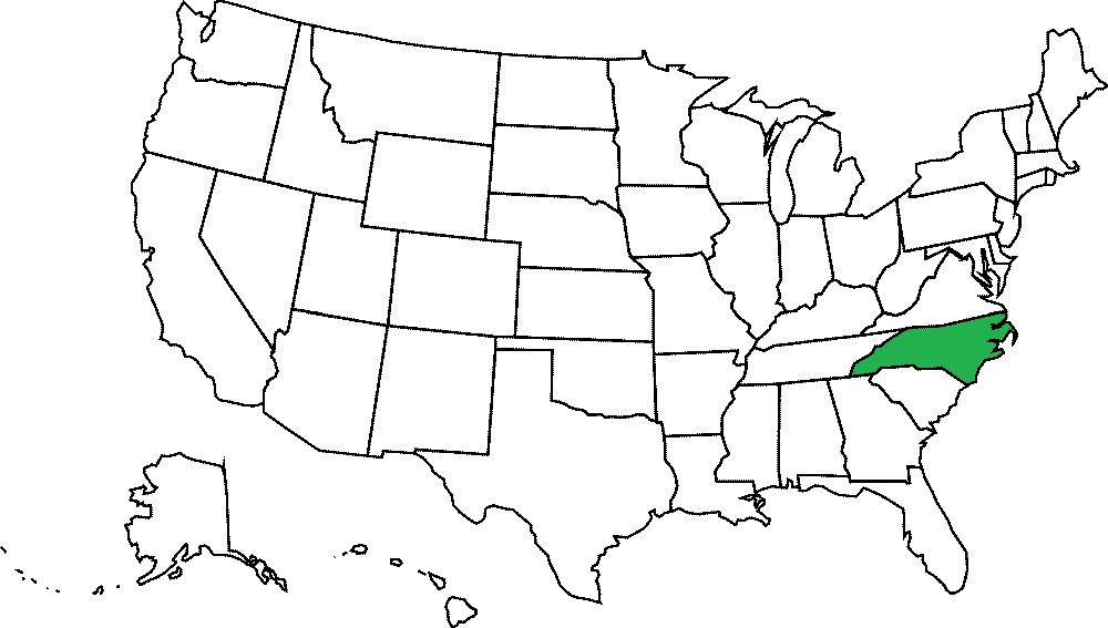 Karolina Północna grafika