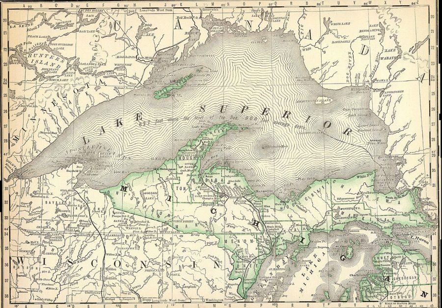 Jezioro Górne grafika