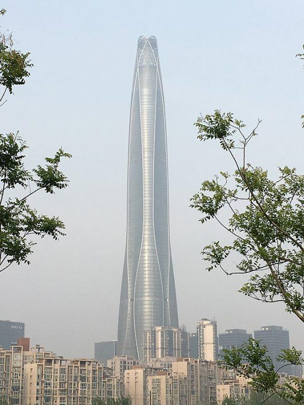 Tianjin Chow Tai Fook Binhai Center grafika