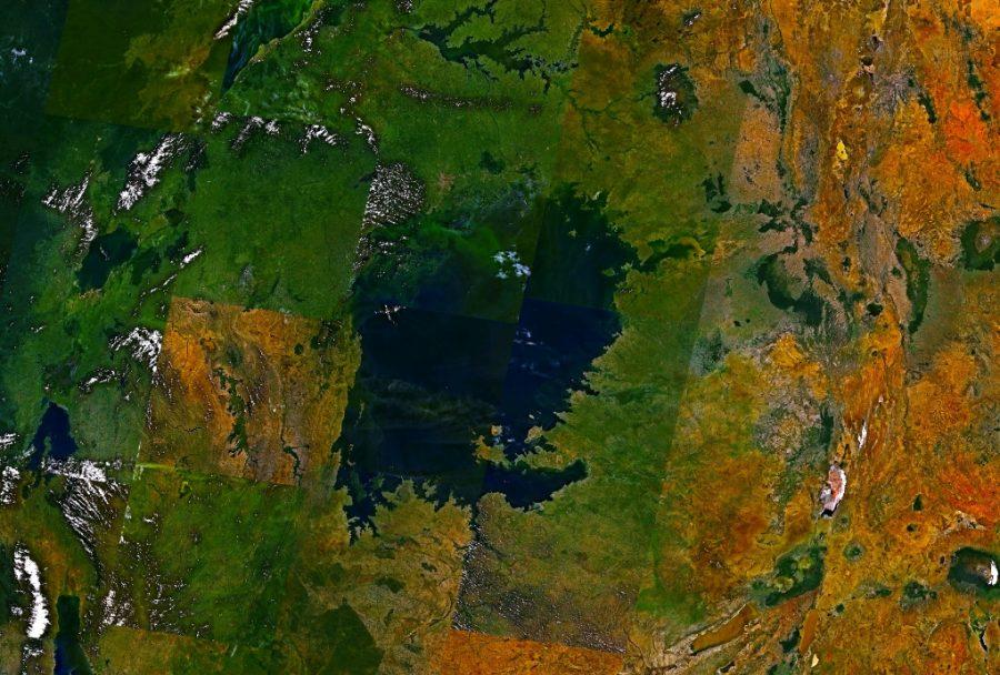 Jezioro Wiktorii grafika