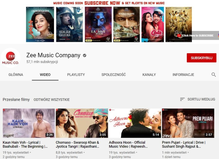 Zee Music Company grafika