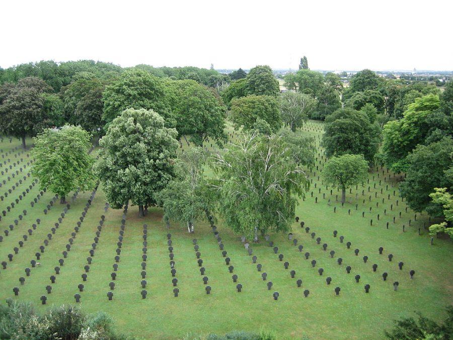 Cmentarz Centralny w Wiedniu grafika