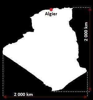 Algieria grafika