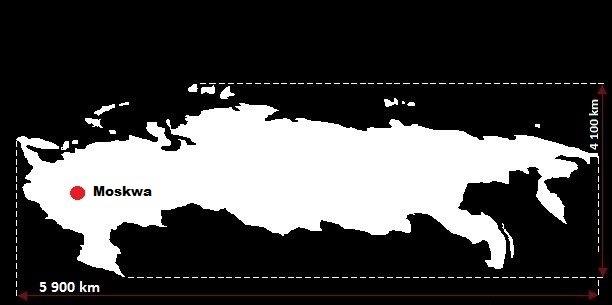 10 największych państw pod względem powierzchni na świecie