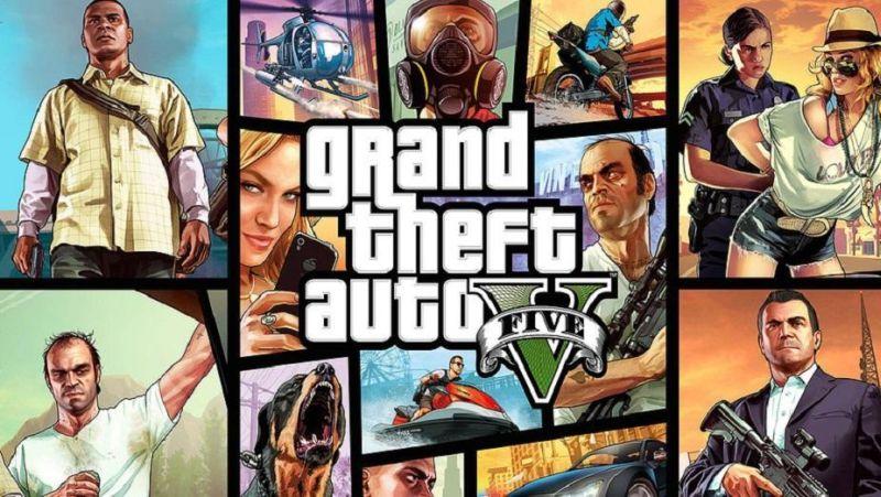 Grand Theft Auto V grafika