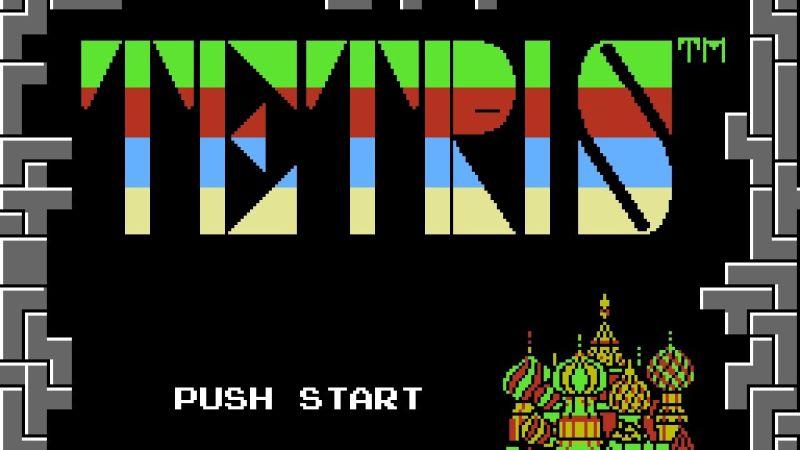 Tetris(Nintendo) grafika