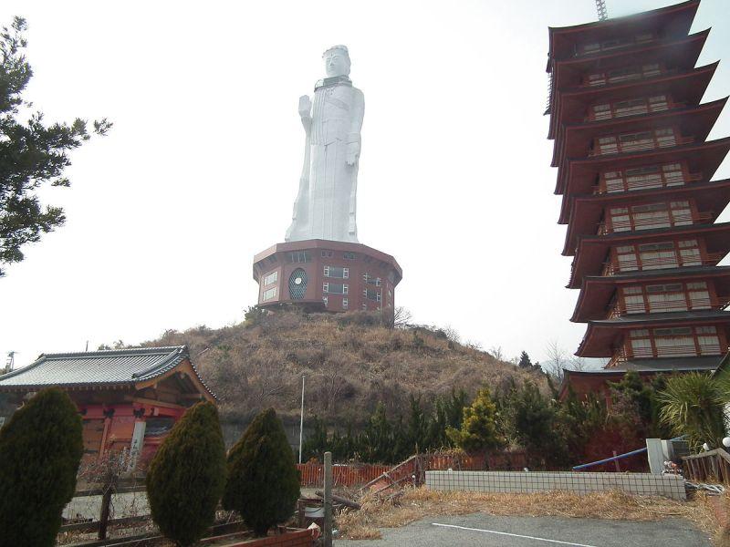 Statua Pokoju Kannonji grafika