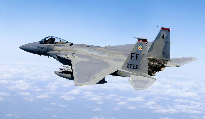 McDonnell Douglas F-15 Eagle grafika