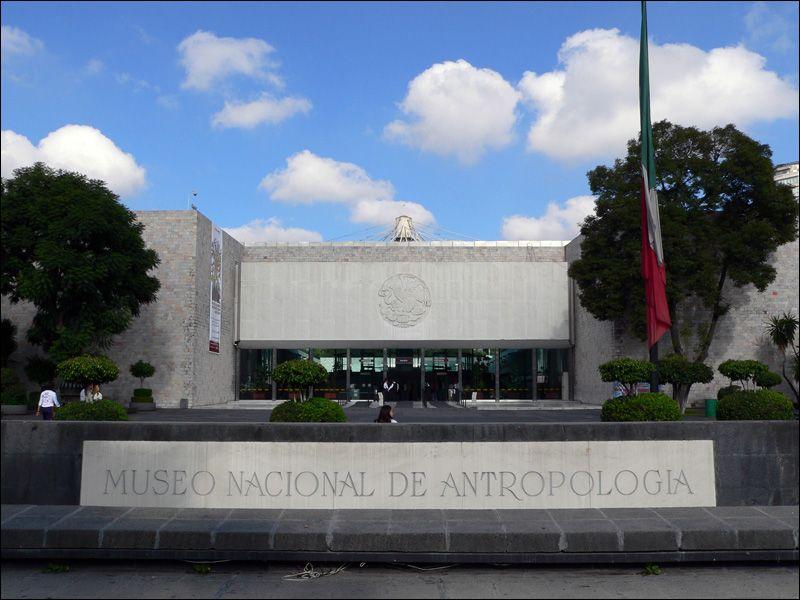Narodowe Muzeum Antropologiczne w Meksyku grafika