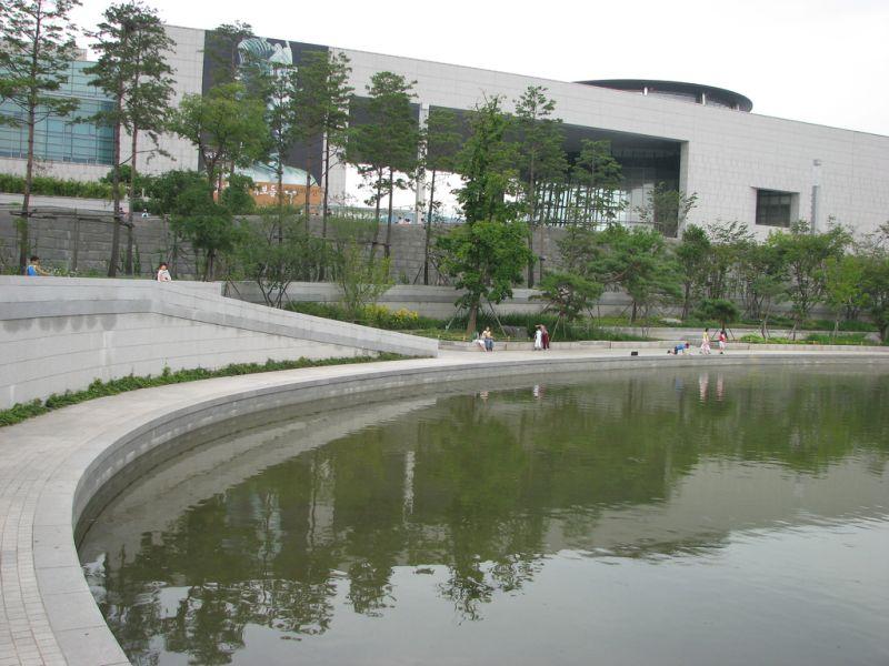 Koreańskie Muzeum Narodowe grafika