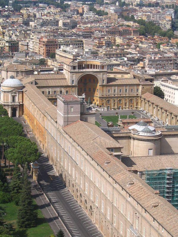 Muzea Watykańskie grafika