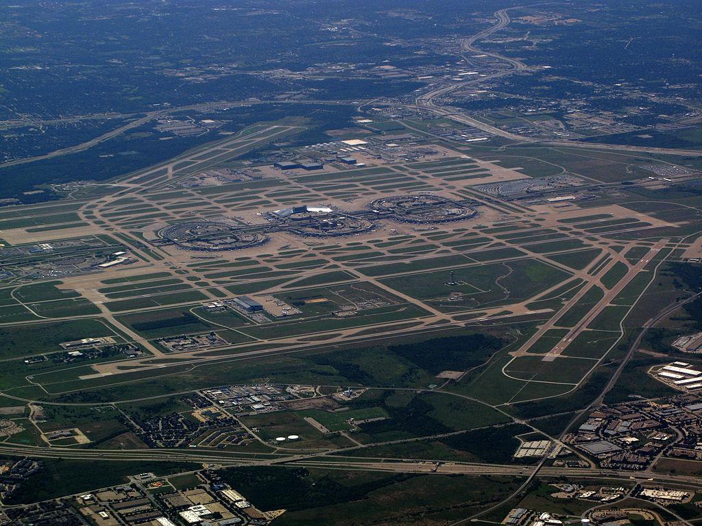 Port lotniczy Dallas-Fort Worth grafika
