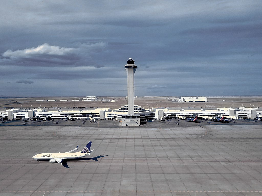 Port lotniczy Denver grafika