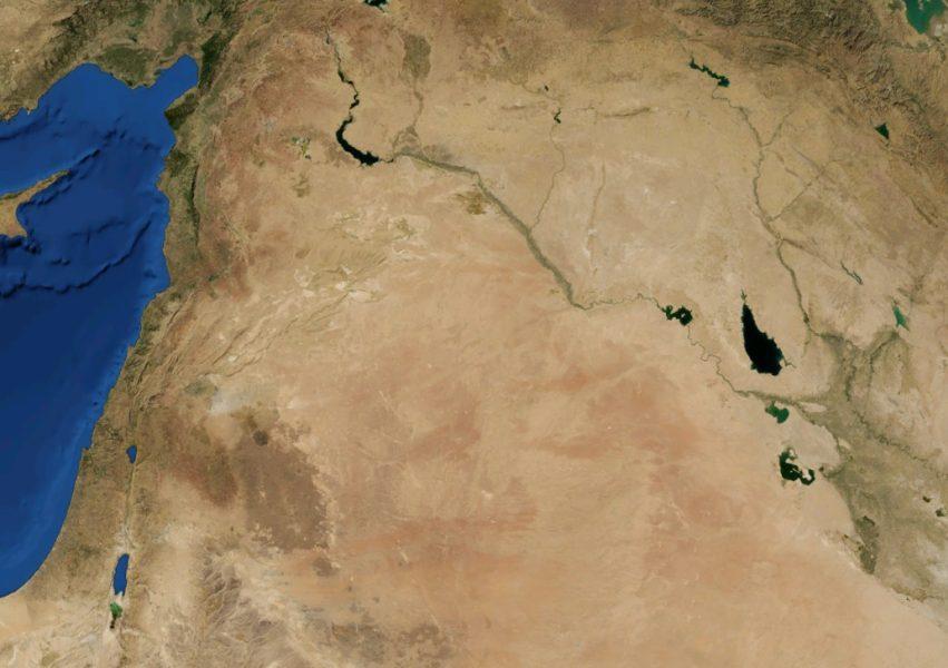 Pustynia Syryjska grafika
