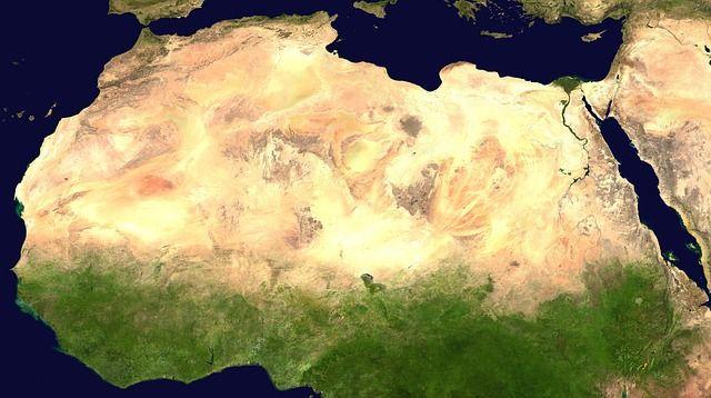 10 największych pustyń