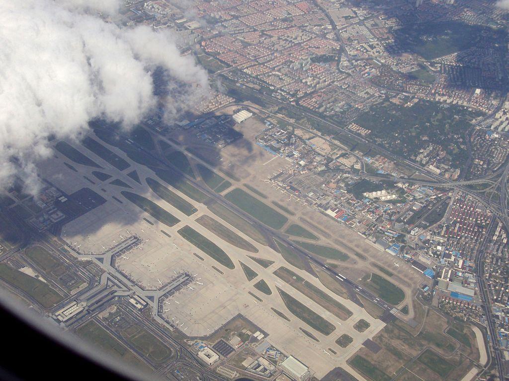 Port lotniczy Szanghaj-Hongqiao grafika