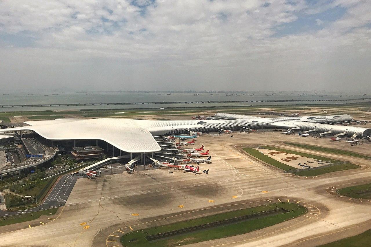 Port lotniczy Shenzhen grafika