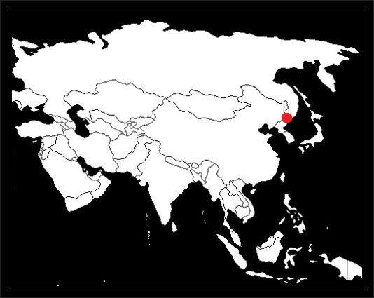 Granica Korei Północnej z Rosją grafika