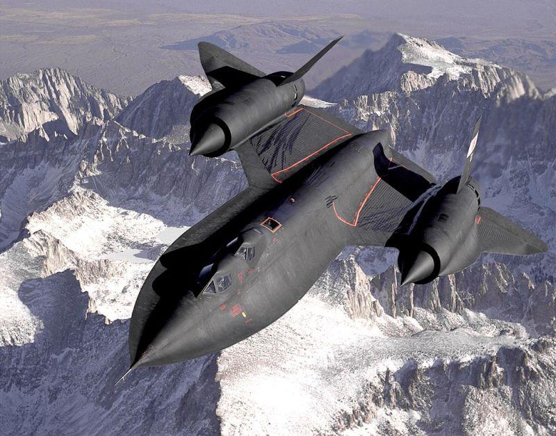 Lockheed SR-71 Blackbird grafika
